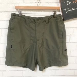 Patagonia Cargo Shorts 8in Woven Olive Green